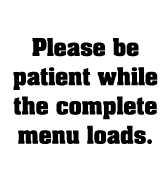 Be Patient while menu loads