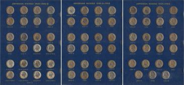 Jefferson Nickels, 1938-1964