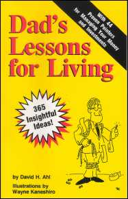 Dad's Lessons for Living book