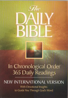 Chronological Bible -  Only $17 postpaid
