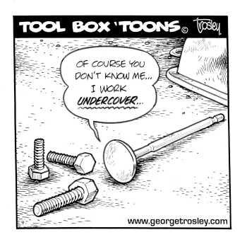 Tool Box Toons By George Trosley