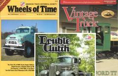 Vintage Truck, Double Clutch, Wheels of Time