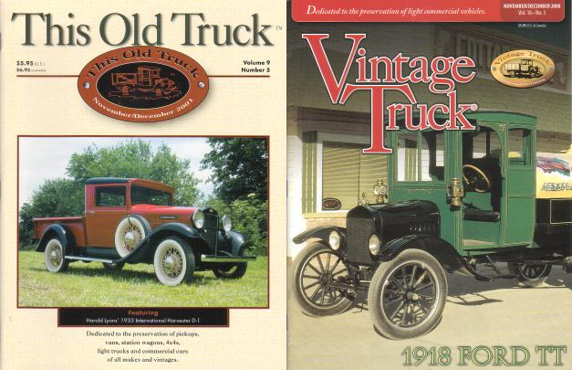 Magazine Back Issues Vintage Truck Formerly This Old
