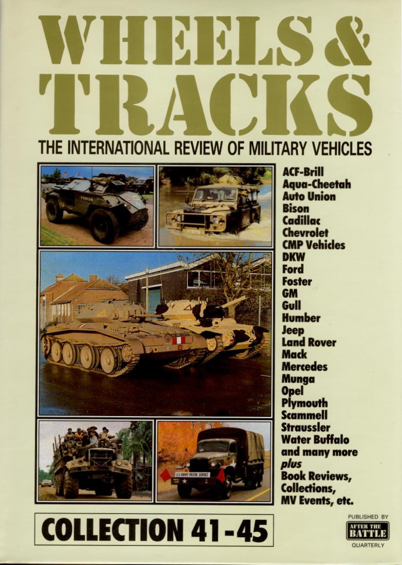 Wheels & Tracks, Bart Vanderveen\'s amazing magazine, all 75 issues ...