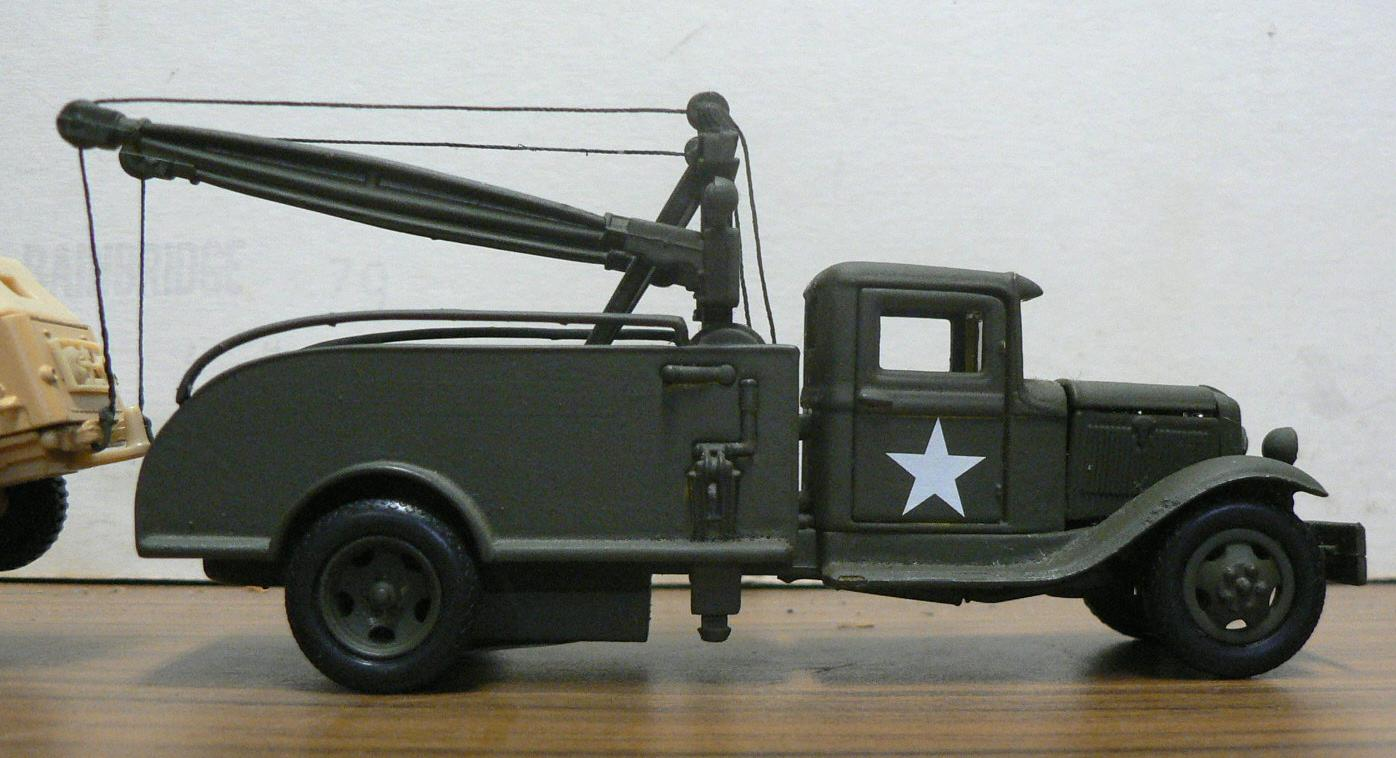 Model Military Vehicles Jeeps Trucks Weapons Carriers Tanks 1942 Dodge Tow Truck 1934 Ford