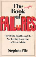 The Book of Failures