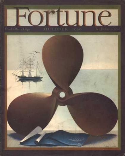Fortune Magazine Back Issues ~ 1940 to 1943 ~ WWII years
